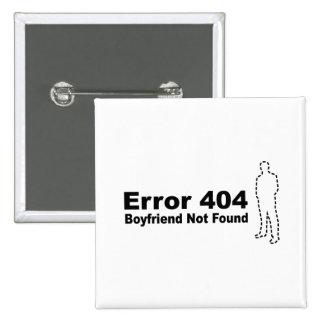 Error 440 - Novio no encontrado Pin Cuadrado