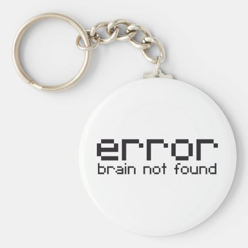 error brain not found key chain