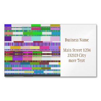 Error Business Card Magnet