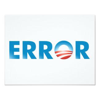 ERROR CARD