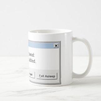 Error Code Coffee Mug