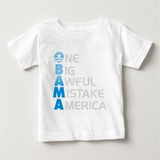 error de obama camiseta