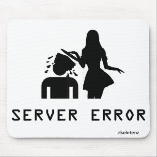 Error de servidor alfombrilla de ratón