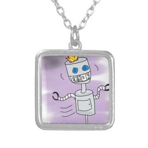 Error del robot collares personalizados