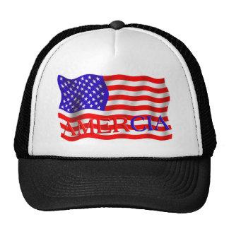 Error falso de la bandera de Amercia (América) Gorros
