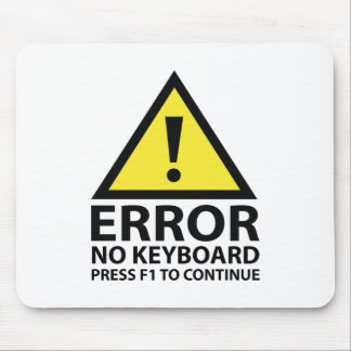 Error No Keyboard Press F1 To Continue Mouse Pad