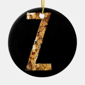 Error tipográfico Z de la letra Ornaments Para Arbol De Navidad