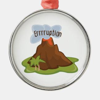 Errruption Christmas Ornaments