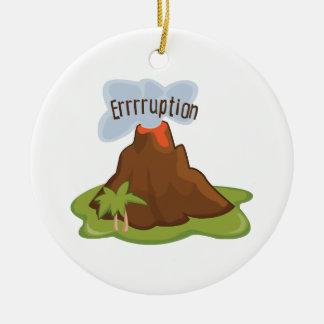 Errruption Christmas Ornament