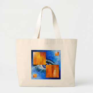 Ersebiossa V1 - hidden eye Large Tote Bag