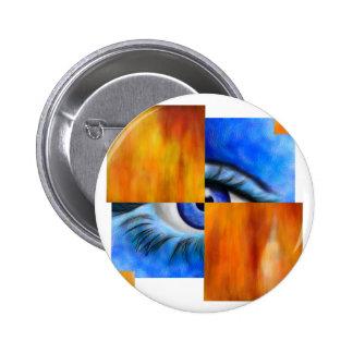 Ersebiossa V1 - hidden eye without back Pinback Button