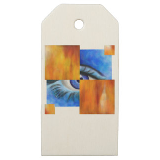 Ersebiossa V1 - hidden eye without back Wooden Gift Tags