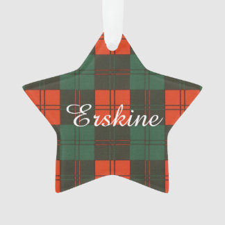 Erskine clan Plaid Scottish tartan