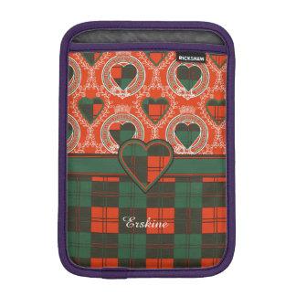 Erskine clan Plaid Scottish tartan iPad Mini Sleeves