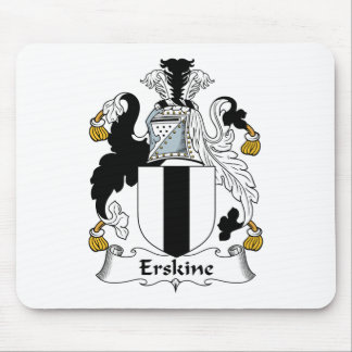 Erskine Family Crest Mouse Pad