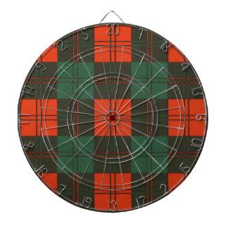 Erskine Scottish Tartan Dartboard With Darts