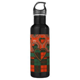 Erskine Scottish Tartan Stainless Steel Water Bottle