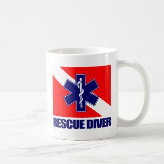 ERT Diver 2 Classic White Coffee Mug