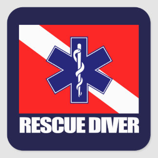 ERT Diver 2 Square Sticker