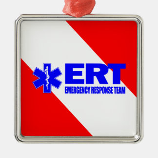 ERT -Emergency Response Team Metal Ornament