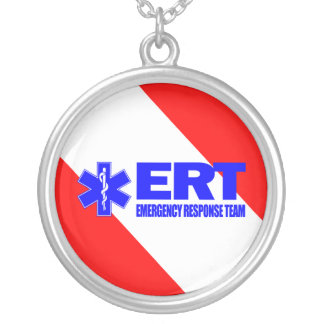 ERT -Emergency Response Team Personalized Necklace