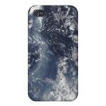 Erupción de Piton de la Fournaise, reunión Isla iPhone 4 Carcasa