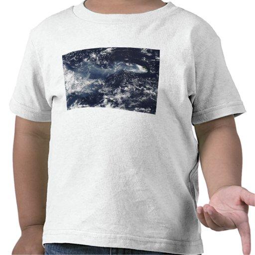 Erupción de Piton de la Fournaise, reunión Isla Camisetas