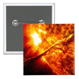 Erupción de Sun - prominencia gigante Pin