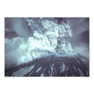 Erupción del Monte Saint Helens Stratovolcano el Invitación