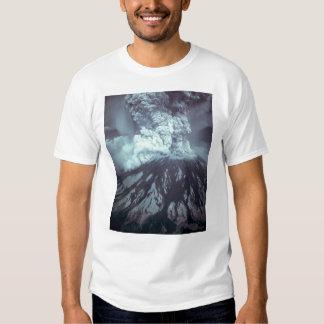 Erupción del Monte Saint Helens Stratovolcano el Playera