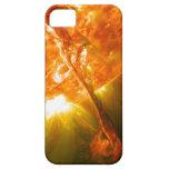 Erupción solar iPhone 5 Case-Mate protectores