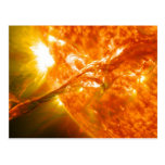 Erupción solar postales