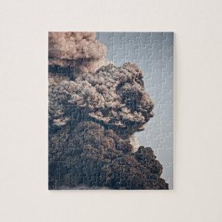 Erupción volcánica de Eyjafjalljokull Rompecabeza Con Fotos