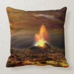 Erupción volcánica en el Io Almohadas