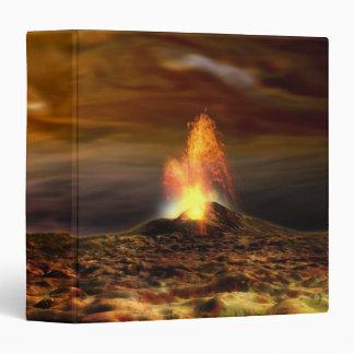 """Erupción volcánica en el Io Carpeta 1 1/2"""""""