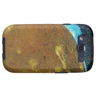 Erupción volcánica en el Io Samsung Galaxy S3 Protectores