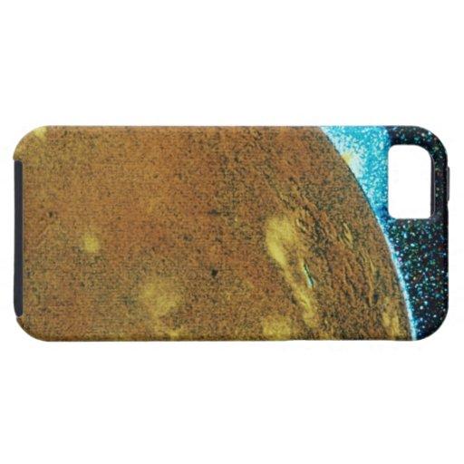 Erupción volcánica en el Io iPhone 5 Case-Mate Carcasas