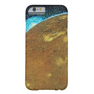 Erupción volcánica en el Io Funda Barely There iPhone 6