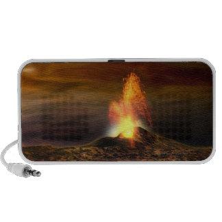 Erupción volcánica en el Io iPhone Altavoz