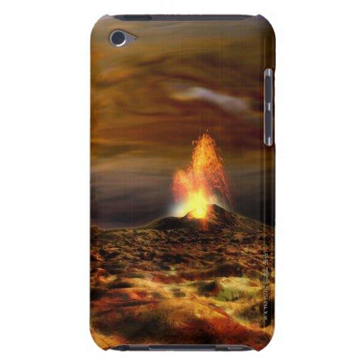 Erupción volcánica en el Io iPod Touch Cárcasas