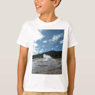 Erupting geyser in Iceland T-Shirt
