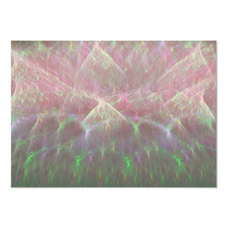 Erupting Sky of Electricity Fractal Art Card