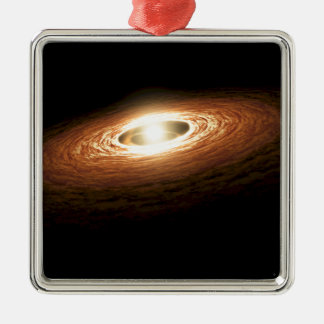 Erupting Star - So You Think You're Hot? Christmas Ornament