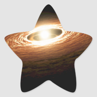 Erupting Star - So You Think You're Hot? Star Sticker