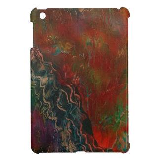 Erupting volcanic landscape iPad mini cases