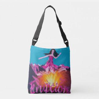 eruption crossbody bag