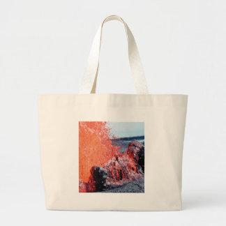 eruption fantasy large tote bag