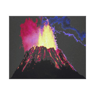 Eruption Gallery Wrapped Canvas