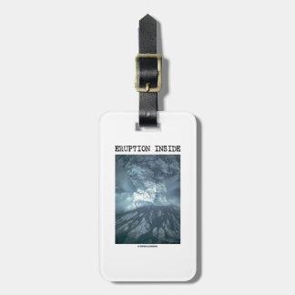 Eruption Inside (Mt. Saint Helens) Luggage Tag