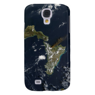 Eruption of Mt Etna in Sicily Galaxy S4 Cover